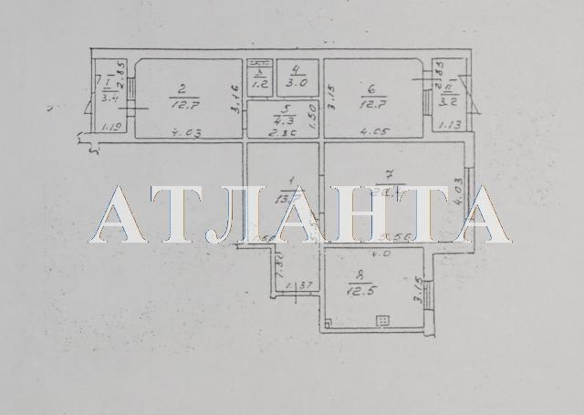 Продается 3-комнатная квартира на ул. Тополевая — 75 000 у.е. (фото №12)