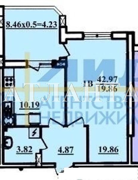 Продается 1-комнатная квартира в новострое на ул. Радужный 1 М-Н — 29 000 у.е. (фото №9)