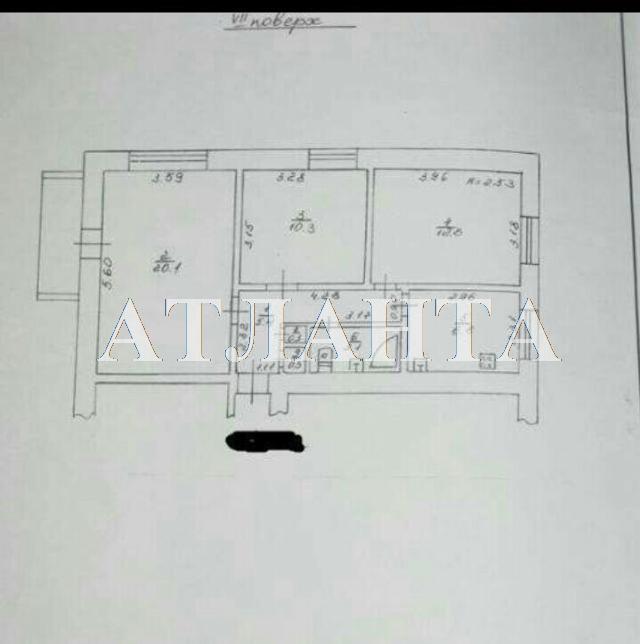 Продается 3-комнатная квартира на ул. Малиновского Марш. — 65 000 у.е. (фото №10)
