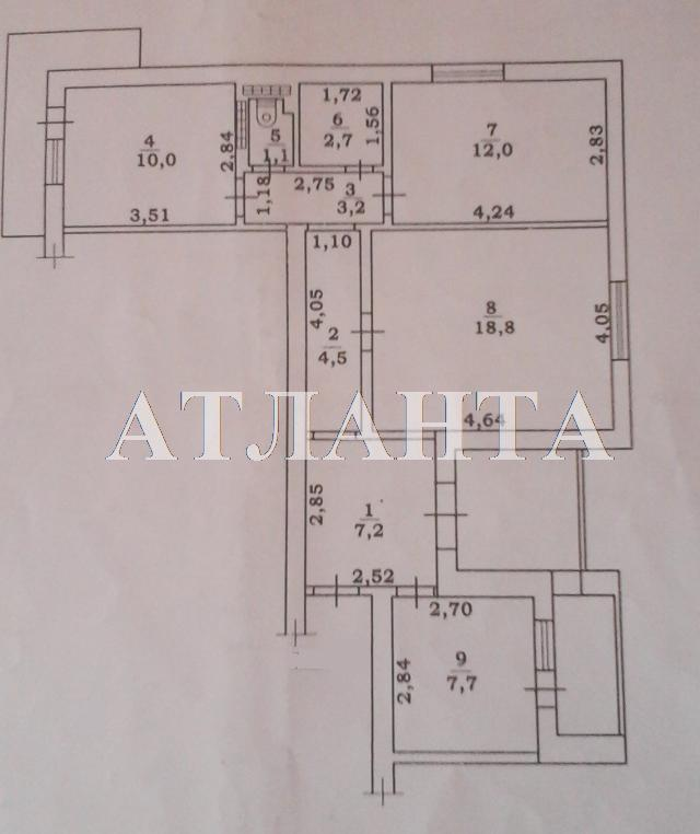 Продается 3-комнатная квартира на ул. Бугаевская — 52 000 у.е. (фото №9)