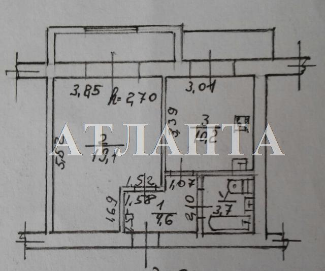 Продается 1-комнатная квартира на ул. Шампанский Пер. — 63 000 у.е. (фото №7)