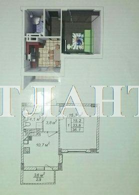 Продается 1-комнатная квартира в новострое на ул. Рихтера Святослава — 23 000 у.е.
