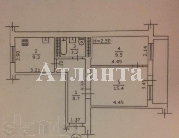 Продается 2-комнатная квартира на ул. Николаевская Дор. — 36 000 у.е. (фото №4)
