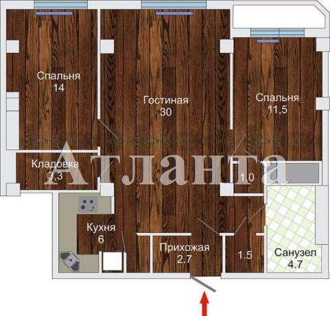 Продается 3-комнатная квартира на ул. Бочарова Ген. — 50 000 у.е. (фото №9)