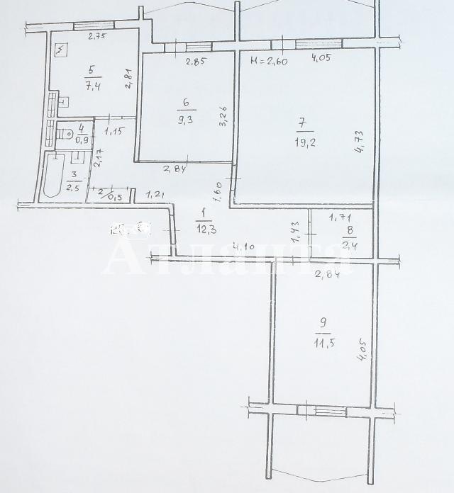 Продается 3-комнатная квартира на ул. Сахарова — 43 000 у.е. (фото №11)