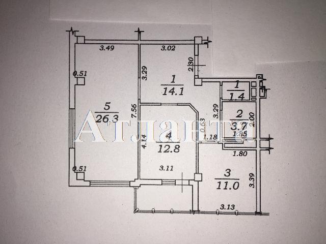 Продается 2-комнатная квартира на ул. Марсельская — 78 000 у.е. (фото №2)