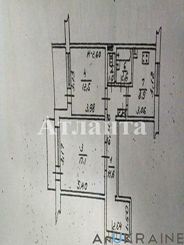 Продается 2-комнатная квартира на ул. Проспект Добровольского — 38 000 у.е. (фото №9)