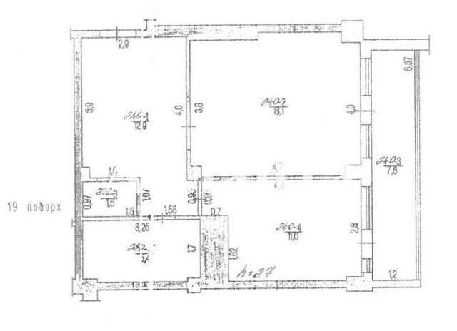 Продается 1-комнатная квартира на ул. Бочарова Ген. — 28 000 у.е. (фото №5)