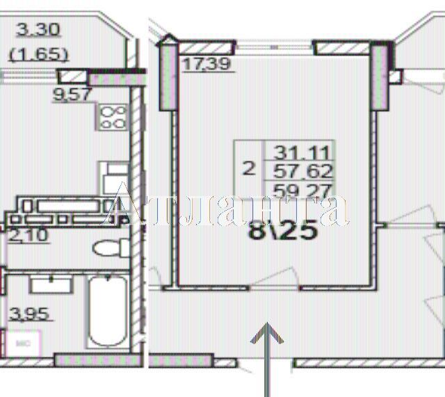Продается 2-комнатная квартира в новострое на ул. Левитана — 40 500 у.е.