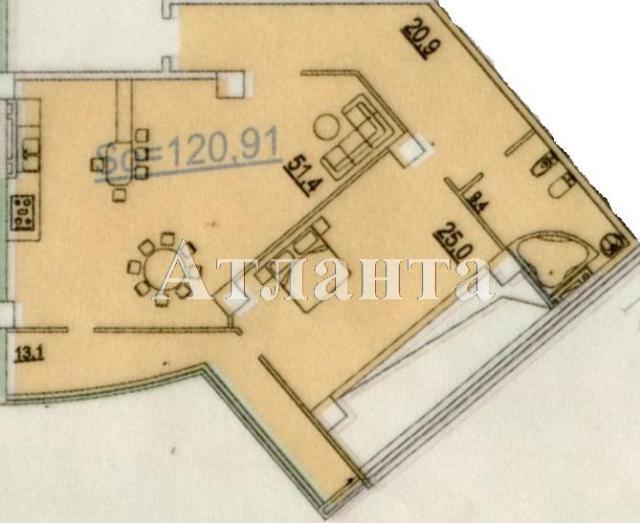 Продается 1-комнатная квартира в новострое на ул. Генуэзская — 111 600 у.е.