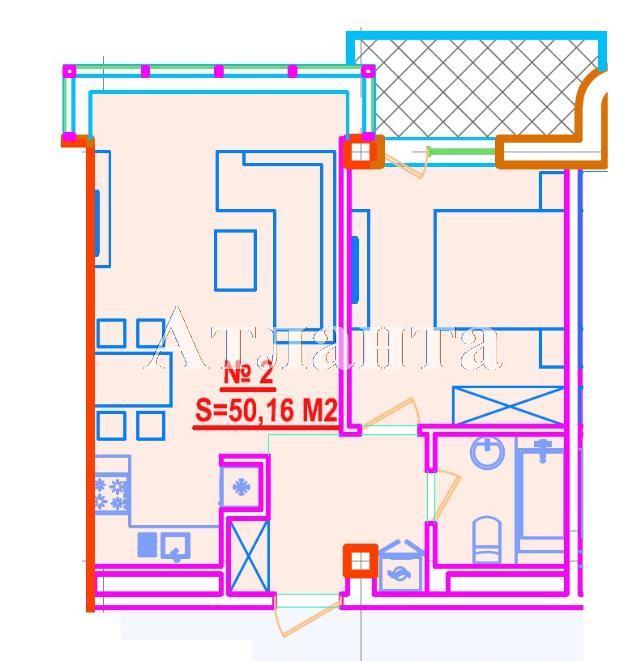 Продается 1-комнатная квартира в новострое на ул. Азарова Вице Адм. — 65 200 у.е.