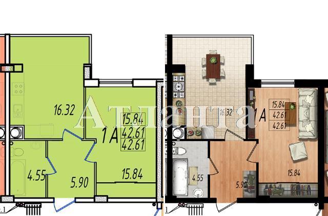 Продается 1-комнатная квартира в новострое на ул. Массив № 10 — 25 350 у.е.