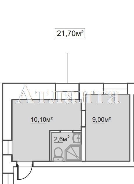 Продается 1-комнатная квартира в новострое на ул. Пересыпская 7-Я — 14 760 у.е.