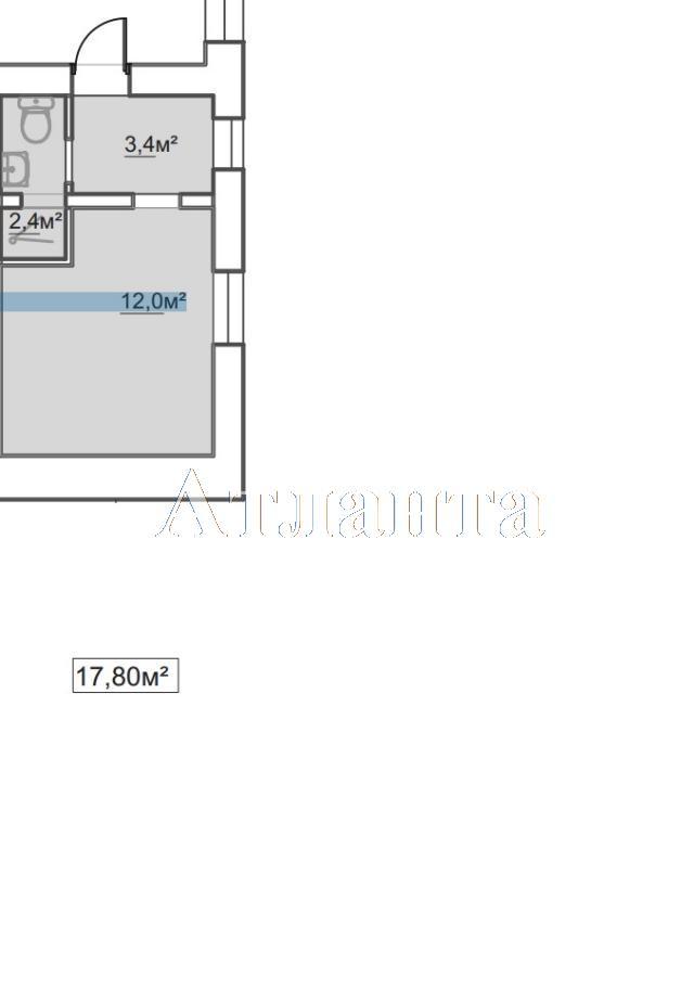 Продается 1-комнатная квартира в новострое на ул. Пересыпская 7-Я — 12 100 у.е.