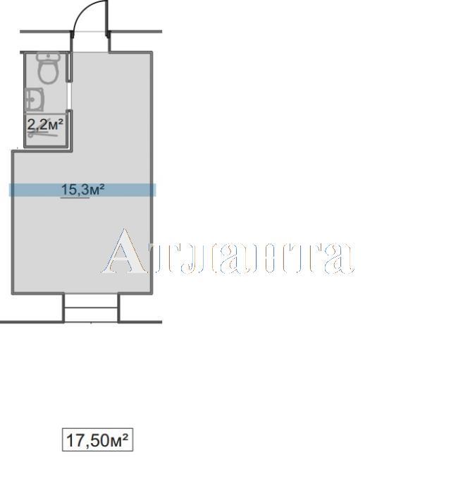 Продается 1-комнатная квартира в новострое на ул. Пересыпская 7-Я — 11 500 у.е.