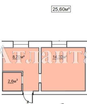 Продается 1-комнатная квартира в новострое на ул. Пересыпская 7-Я — 17 410 у.е.