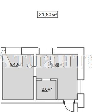 Продается 1-комнатная квартира в новострое на ул. Пересыпская 7-Я — 14 970 у.е.
