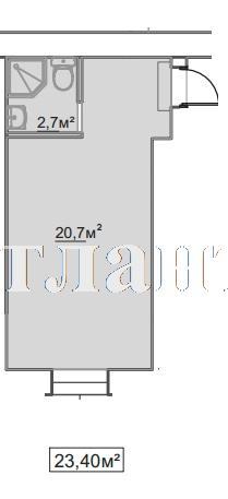 Продается 1-комнатная квартира в новострое на ул. Пересыпская 7-Я — 15 910 у.е.