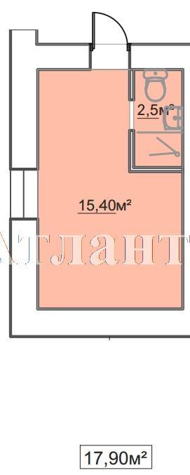 Продается 1-комнатная квартира в новострое на ул. Пересыпская 7-Я — 12 260 у.е.