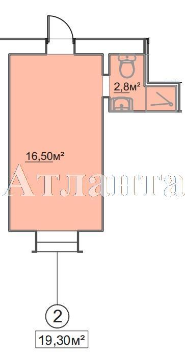 Продается 1-комнатная квартира в новострое на ул. Пересыпская 7-Я — 13 500 у.е.