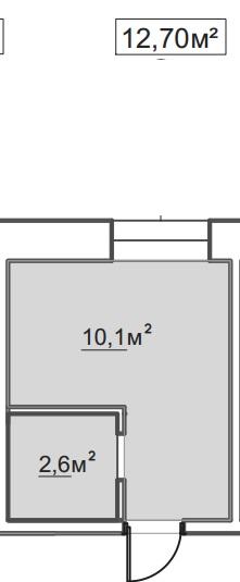 Продается 1-комнатная квартира в новострое на ул. Пересыпская 7-Я — 8 990 у.е.