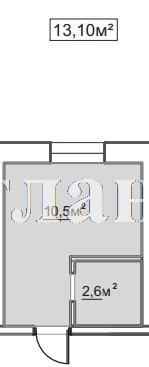 Продается 1-комнатная квартира в новострое на ул. Пересыпская 7-Я — 8 600 у.е.