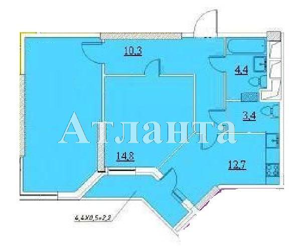 Продается 2-комнатная квартира в новострое на ул. Проценко — 46 210 у.е. (фото №4)