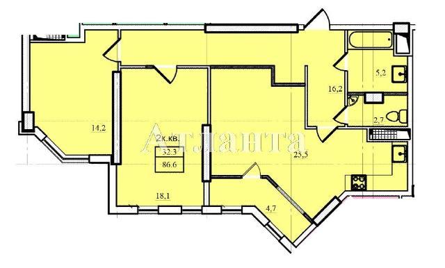 Продается 2-комнатная квартира в новострое на ул. Проценко — 51 040 у.е. (фото №4)