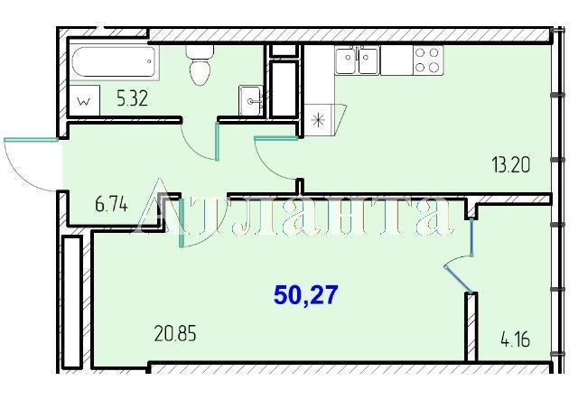 Продается 1-комнатная квартира в новострое на ул. Жм Дружный — 31 000 у.е.