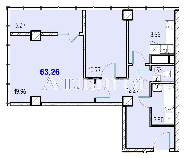 Продается 2-комнатная квартира в новострое на ул. Жм Дружный — 36 270 у.е.
