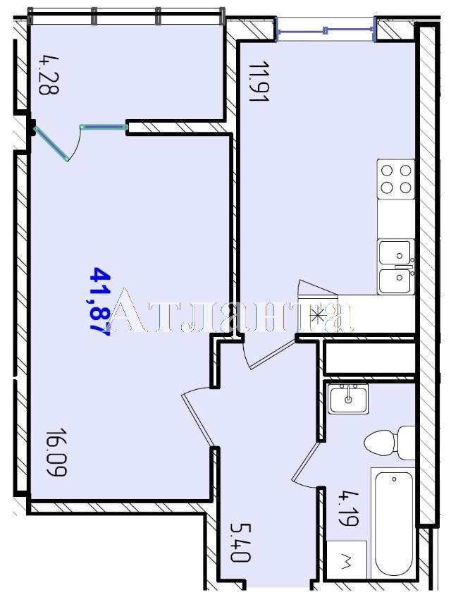 Продается 1-комнатная квартира в новострое на ул. Жм Дружный — 25 820 у.е.
