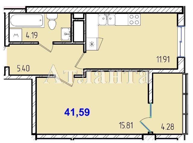 Продается 1-комнатная квартира в новострое на ул. Жм Дружный — 25 640 у.е.