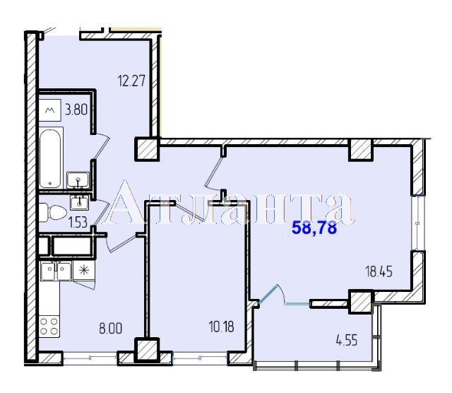 Продается 2-комнатная квартира в новострое на ул. Жм Дружный — 35 640 у.е.