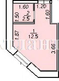 Продается 1-комнатная квартира на ул. 10 Апреля — 12 570 у.е. (фото №3)