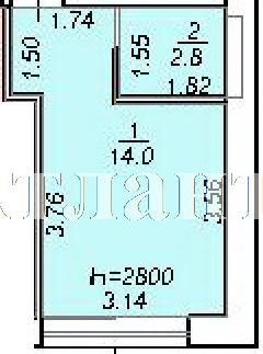 Продается 1-комнатная квартира на ул. 10 Апреля — 13 940 у.е. (фото №4)