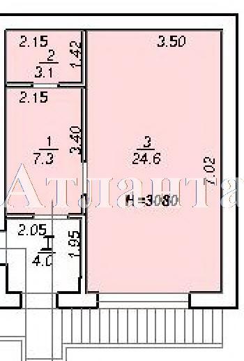 Продается 1-комнатная квартира на ул. 10 Апреля — 25 950 у.е.