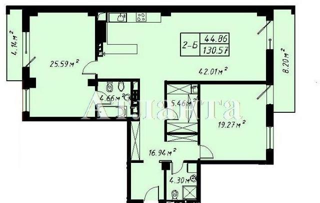 Продается 3-комнатная квартира в новострое на ул. Отрадная — 264 800 у.е.