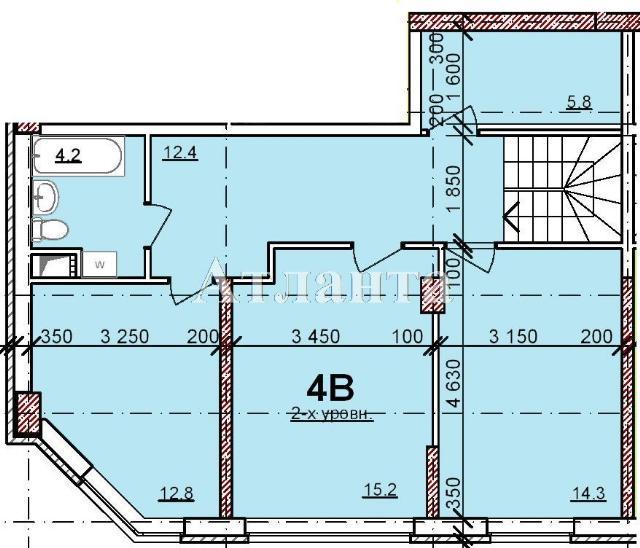 Продается Многоуровневая квартира в новострое на ул. Балковская — 71 600 у.е. (фото №2)