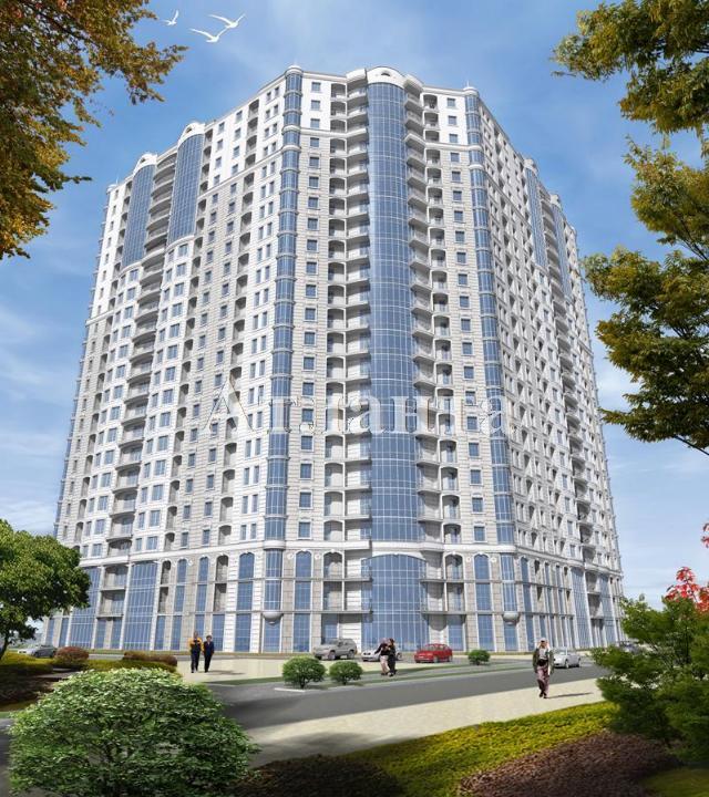 Продается 1-комнатная квартира в новострое на ул. Гагаринское Плато — 56 190 у.е. (фото №2)