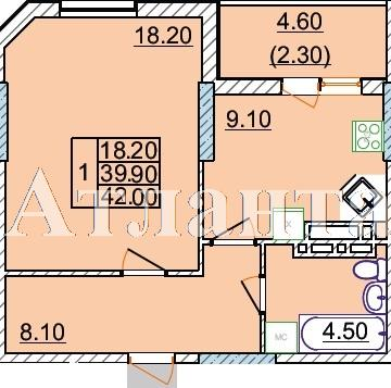 Продается 1-комнатная квартира в новострое на ул. Левитана — 30 500 у.е. (фото №5)