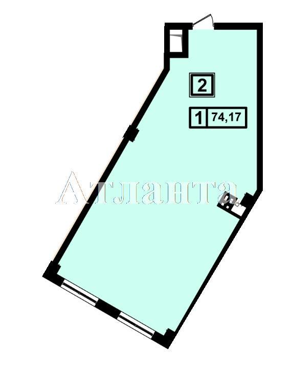 Продается 1-комнатная квартира в новострое на ул. Генуэзская — 69 720 у.е.