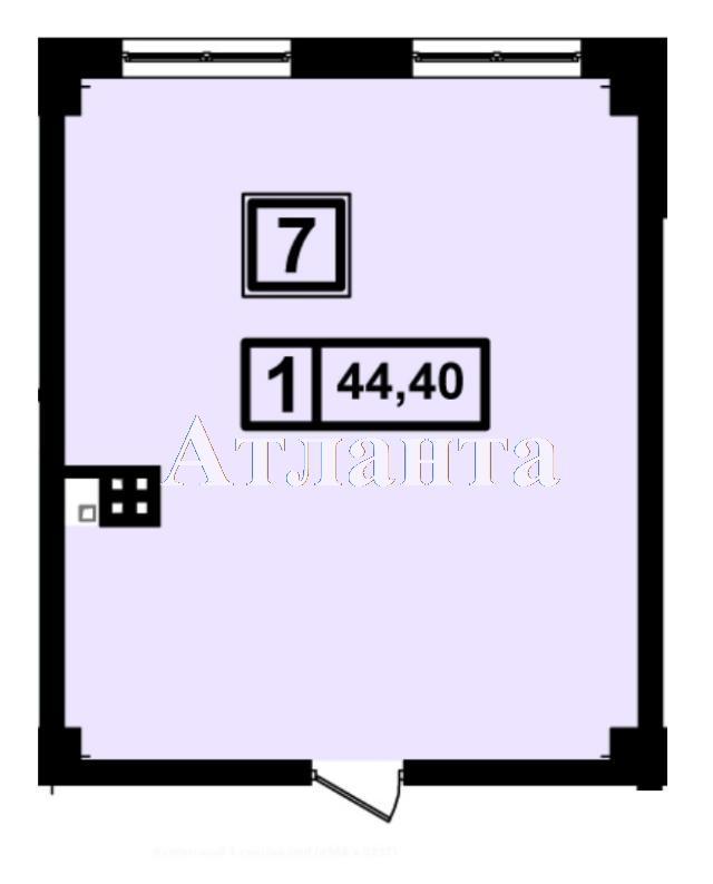 Продается 1-комнатная квартира в новострое на ул. Генуэзская — 41 740 у.е. (фото №3)