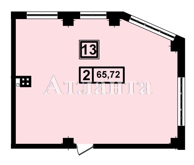 Продается 2-комнатная квартира в новострое на ул. Генуэзская — 62 430 у.е.