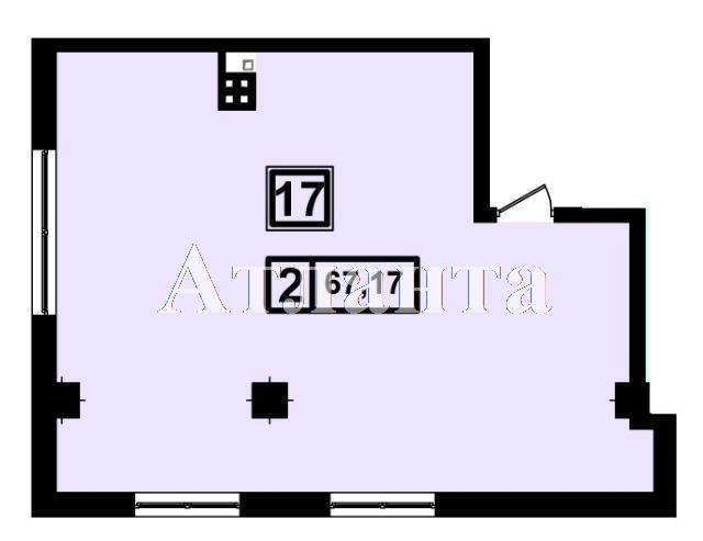 Продается 2-комнатная квартира в новострое на ул. Генуэзская — 63 140 у.е. (фото №3)