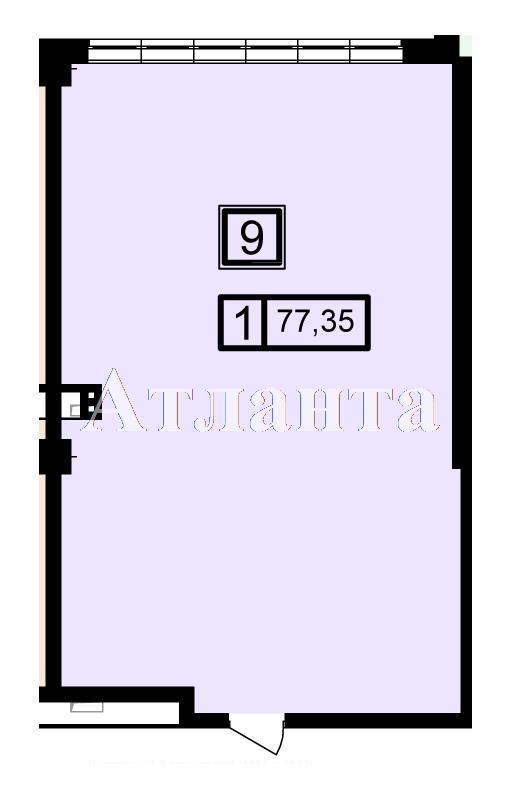Продается 1-комнатная квартира в новострое на ул. Генуэзская — 74 100 у.е. (фото №3)
