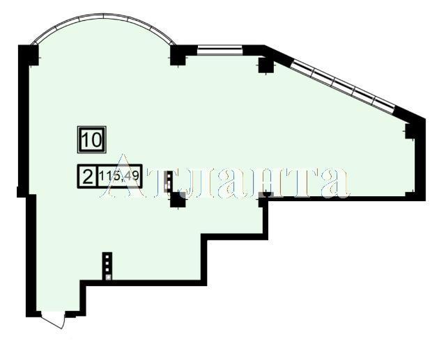 Продается 2-комнатная квартира в новострое на ул. Генуэзская — 108 560 у.е. (фото №3)