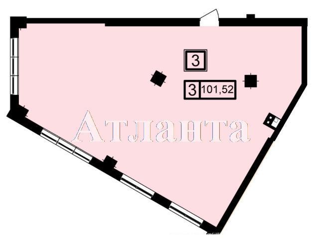 Продается 3-комнатная квартира в новострое на ул. Генуэзская — 96 440 у.е. (фото №3)