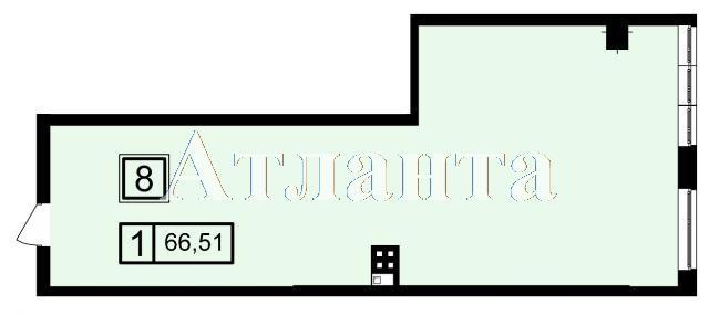 Продается 1-комнатная квартира в новострое на ул. Генуэзская — 55 840 у.е. (фото №3)