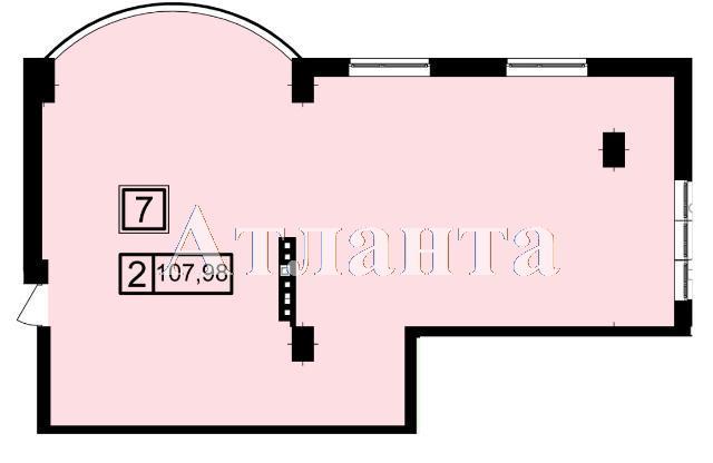 Продается 2-комнатная квартира в новострое на ул. Генуэзская — 101 500 у.е. (фото №3)