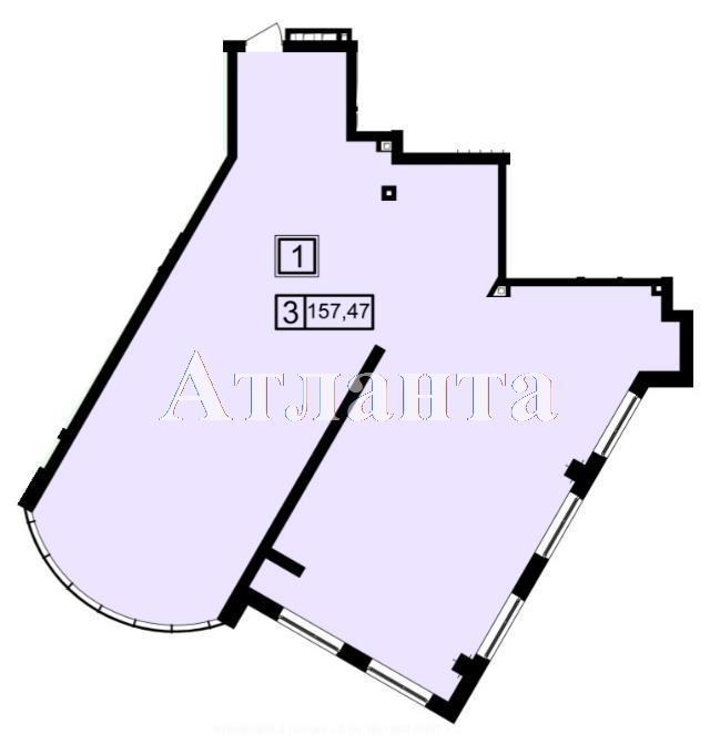 Продается 3-комнатная квартира в новострое на ул. Генуэзская — 148 020 у.е.